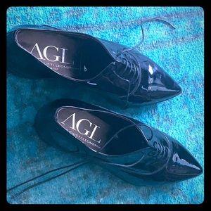 Attilio Giusti Leombruni Patent Leather loafers